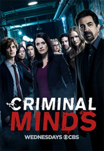 Appearing on CBS' Criminal Minds – Wednesday, November 15th